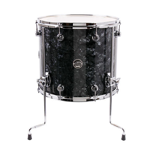 Dw performance series floor tom black diamond 16 x 14 in for 16x14 floor tom