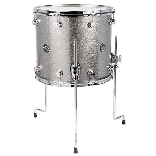 DW Performance Series Floor Tom Titanium Sparkle 16 x 14 in.