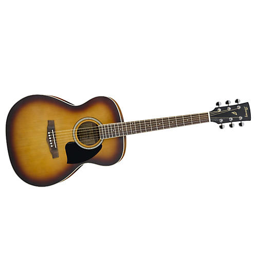 Ibanez Performance Series PC15 Grand Concert Acoustic Guitar Open Pore Vintage Sunburst