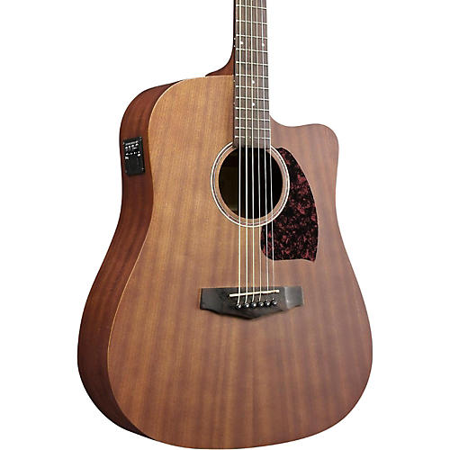 Ibanez Performance Series PF12MHCEOPN Mahogany Dreadnought Acoustic-Electric Guitar-thumbnail