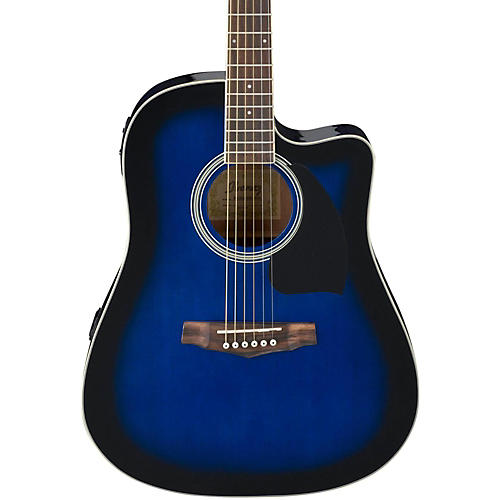 Ibanez Performance Series PF15 Cutaway Dreadnought Acoustic-Electric Guitar-thumbnail