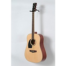 Performance Series PF15 Left Handed Dreadnought Acoustic Guitar Level 2 Natural 888366024133