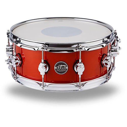 DW Performance Series Snare Drum 14 x 5.5 in. Candy Apple Lacquer