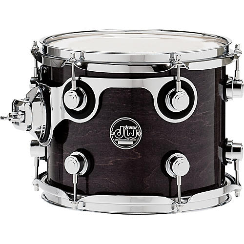 DW Performance Series Tom 10 x 8 in. Ebony Stain Lacquer-thumbnail