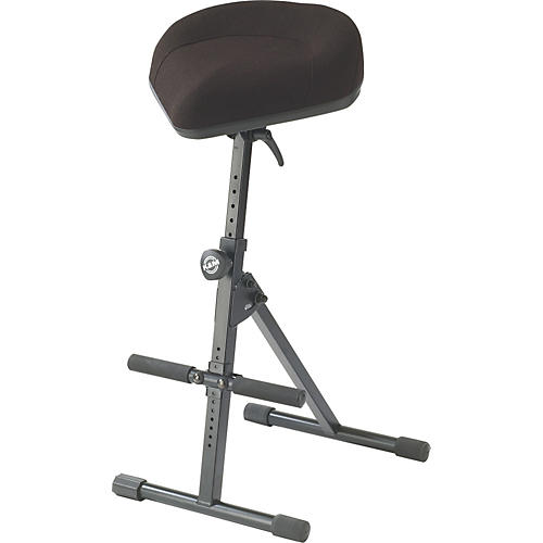 K&M Performance Stool with Pneumatic Spring  Black