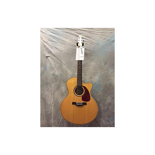 Seagull Performer CW MJ Acoustic Electric Guitar Quilted Flame Maple