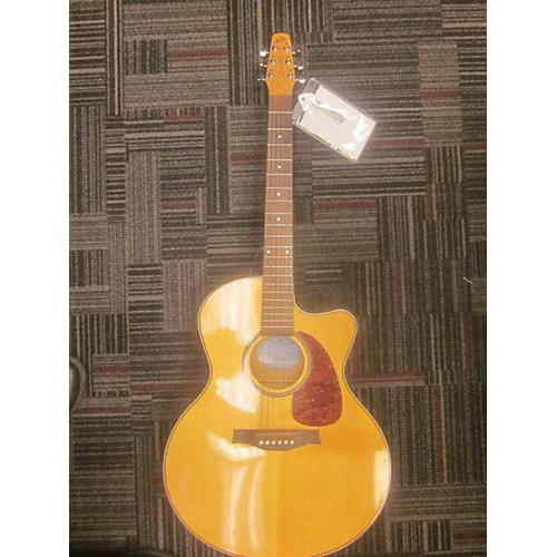 Seagull Performer CW MJ Flame Maple HG QIT Acoustic Electric Guitar