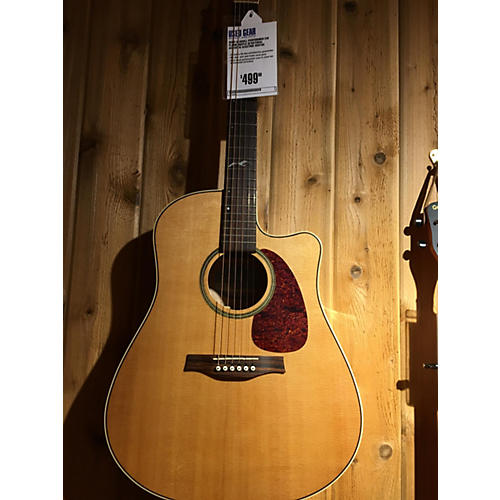 Seagull Performer Cw Flame Maple Qi Acoustic Electric Guitar-thumbnail