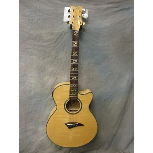 Dean Performer Flame Maple Acoustic Electric Guitar-thumbnail