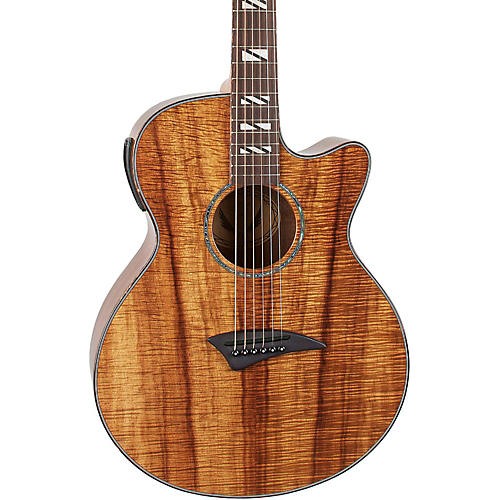 Dean Performer Koa Acoustic-Electric Guitar with Aphex-thumbnail