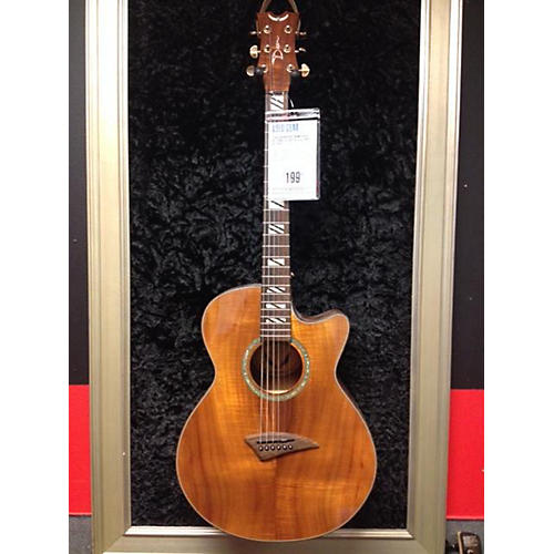 Dean Performer Koa Acoustic Electric Guitar