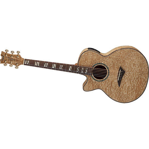 Dean Performer Quilt Ash Left-Handed Acoustic-Electric Guitar w/Aphex