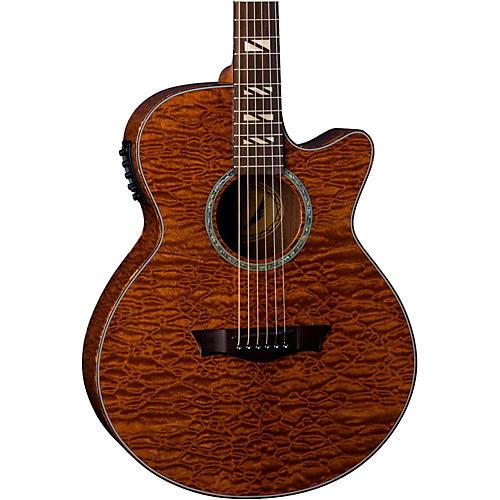 Dean Performer Quilt Mahogany Acoutic-Electric Guitar-thumbnail