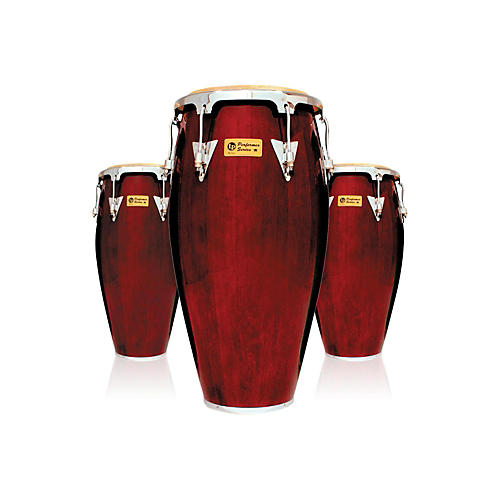 LP Performer Series 3-Piece Conga Set with Chrome Hardware-thumbnail
