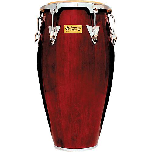 LP Performer Series Conga 12.5 Inch Tumba Dark Wood Chrome Hardware