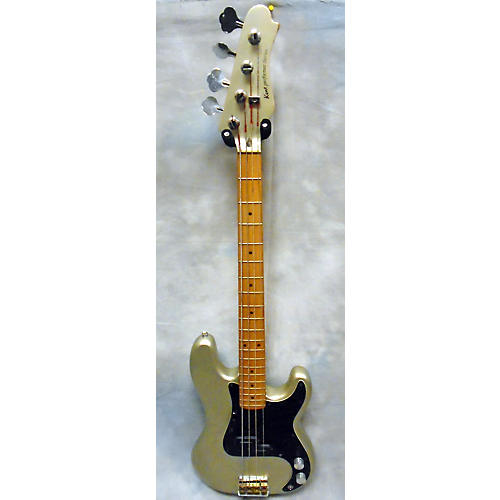Kent Performer Series Electric Bass Guitar Silver