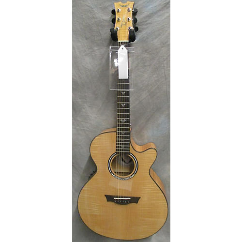 Dean Performer Ultra Flame Maple Acoustic Electric Guitar-thumbnail