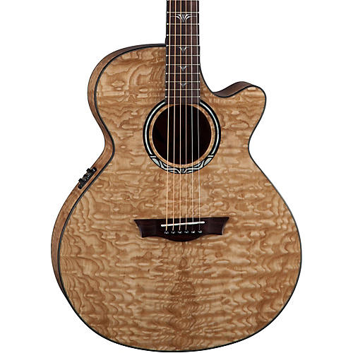 Dean Performer Ultra Quilt Acoustic-Electric Guitar Natural
