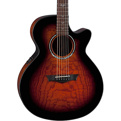 Dean Performer Ultra Quilt Acoustic-Electric Guitar Tiger Eye