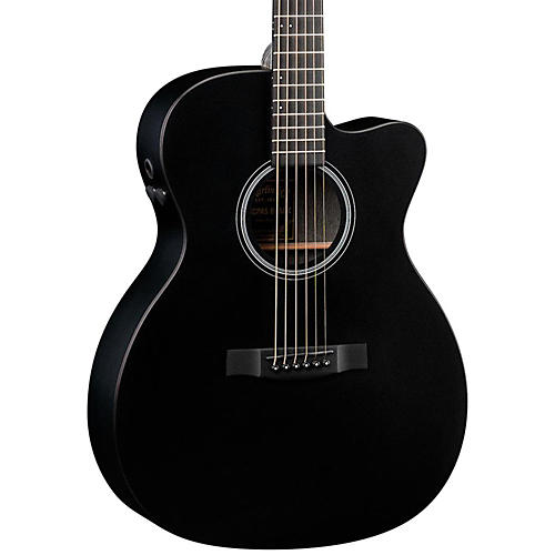 Martin Performing Artist 2015 OMCPA5 Cutaway Orchestra Model Acoustic-Electric Guitar Black