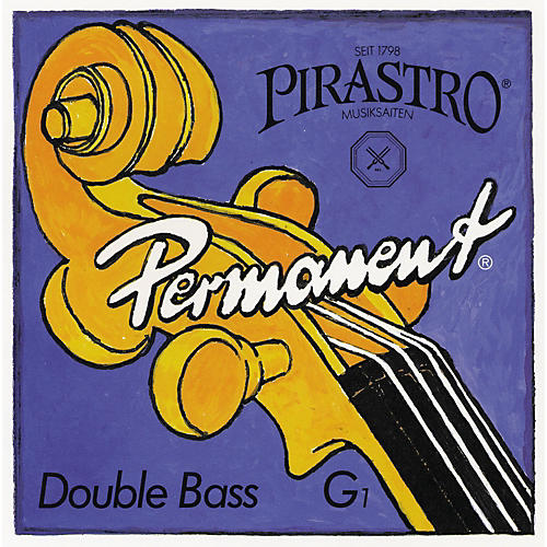Pirastro Permanent Series Double Bass Solo String Set 3/4 Set Solo