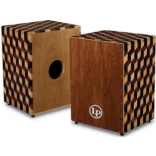 LP Peruvian Solid Wood Brick Cajon-thumbnail