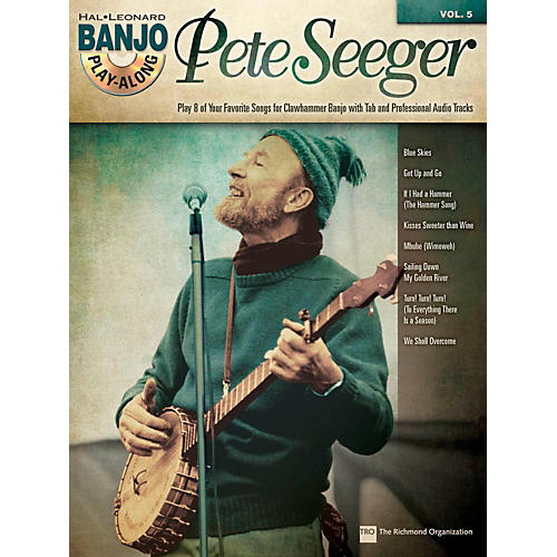 Hal Leonard Pete Seeger - Banjo Play-Along Vol. 5 Book/CD