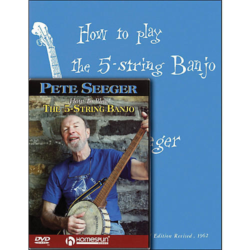 Hal Leonard Pete Seeger Banjo Mega Pack-thumbnail