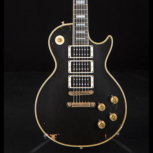 Gibson Custom Peter Frampton Signed 1954 Les Paul Custom Phenix Lamp Black, Murphy Heavy Aged