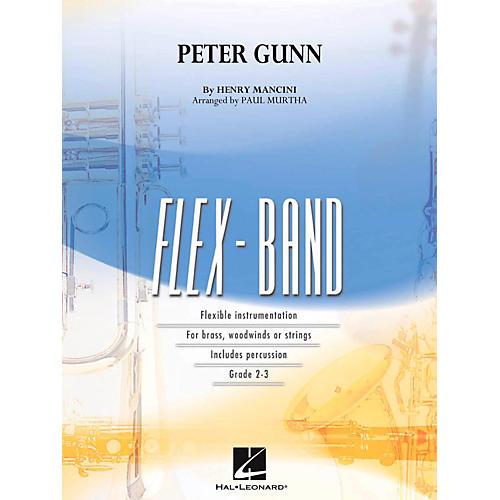 Hal Leonard Peter Gunn Concert Band Flex-Band Series