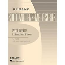 Rubank Publications Petite Gavotte (Flute Solo with Piano - Grade 1.5) Rubank Solo/Ensemble Sheet Series