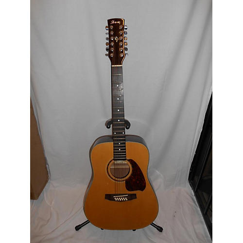 used ibanez pf512 12 string acoustic guitar natural guitar center. Black Bedroom Furniture Sets. Home Design Ideas