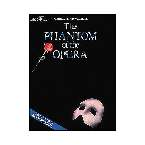 Hal Leonard Phantom Of The Opera - Easy Adult Piano Level Songbook