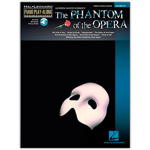 Hal Leonard Phantom Of The Opera - Piano Play-Along Volume 83 (Book/Online Audio)-thumbnail