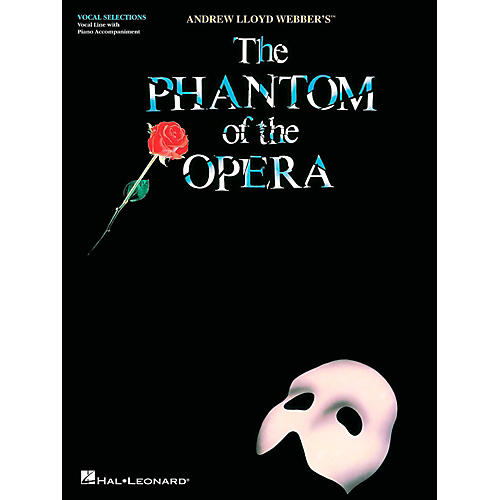Hal Leonard Phantom Of The Opera - Vocal Selections (Voice With Piano Accompaniment)-thumbnail