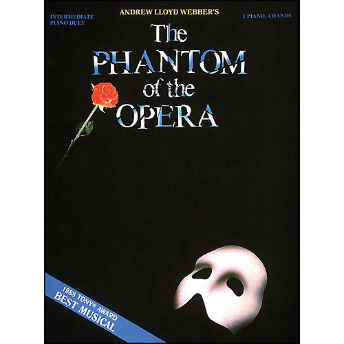 Hal Leonard Phantom Of The Opera 1 Piano 4 Hands Intermediate Piano Duet-thumbnail