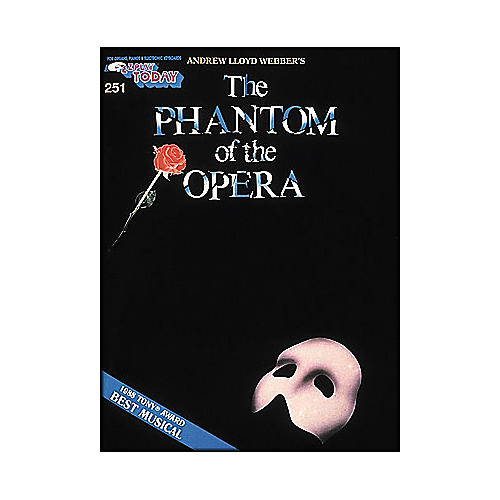 Hal Leonard Phantom Of The Opera E-Z Play 251