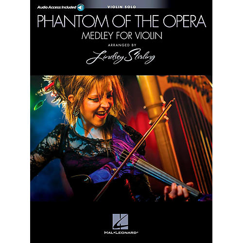 Hal Leonard Phantom Of The Opera: Lindsey Sterling Medley Book/Online Audio-thumbnail