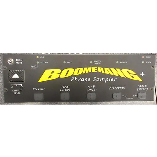 Boomerang Phase Sampler Plus Pedal