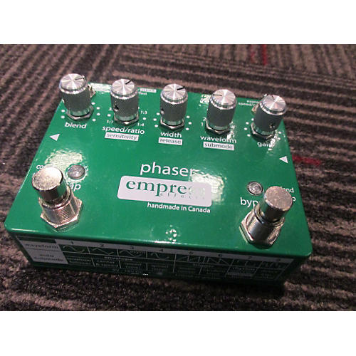 Empress Effects Phaser Effect Pedal-thumbnail