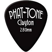 Clayton Phat-Tone Standard Rubber Picks 3-Picks