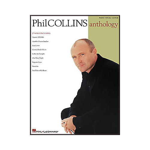 Hal Leonard Phil Collins Anthology Songbook-thumbnail