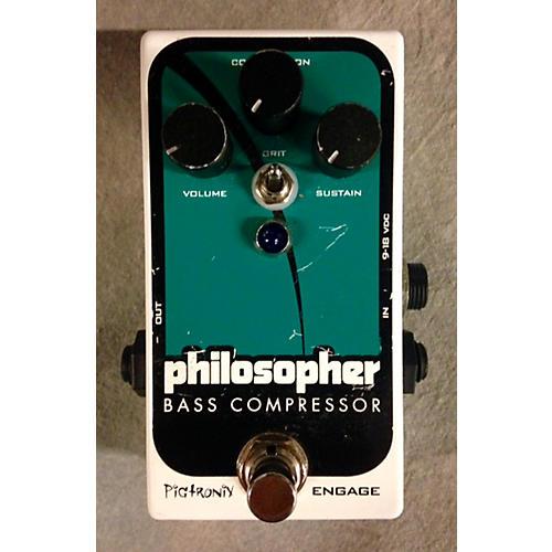 Pigtronix Philosopher Bass Compressor Bass Effect Pedal-thumbnail