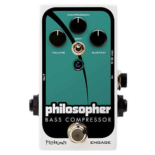Pigtronix Philosopher Bass Compressor Effects Pedal