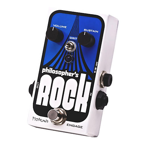 Pigtronix Philosopher's Rock Compressor & Sustainer with Germanium Distortion-thumbnail
