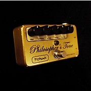 Pigtronix Philosophers Tone Gold Germanium Edition Effect Pedal