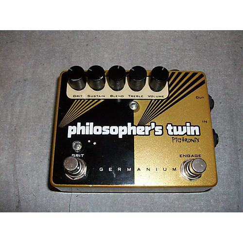 Pigtronix Philosophers Twin Effect Pedal