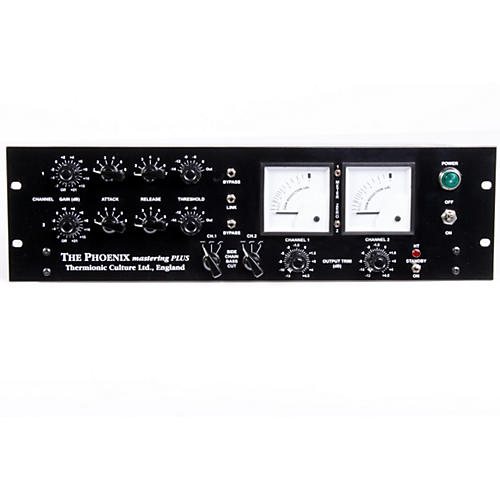 Thermionic Culture Phoenix Mastering Plus Blackface Master Plus Stereo Tube Compressor-thumbnail
