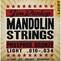 Dunlop Phospher Bronze 8-String Mandolin Set Light  Thumbnail