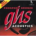 GHS Phosphor Bronze 12-String Light Acoustic Guitar Strings  Thumbnail